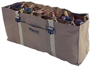 Higdon 12-Slot Duck Decoy Bag Polyester Brown