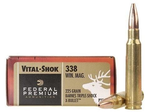 Federal Premium Vital-Shok Ammo 338 Winchester Mag 225 ...
