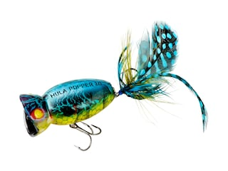 Arbogast Hula Popper 2.0 Topwater Blue Kill