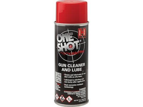 Hornady One Shot Gun Cleaner with Dyna Glide Plus 5-1/2 oz Aerosol