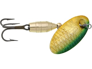 Panther Martin Holographic Deluxe Inline Spinner Holographic Green & Gold 1/16 oz