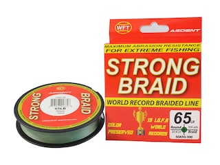 Ardent Strong Braided Fishing Line 65lb 300yd Green