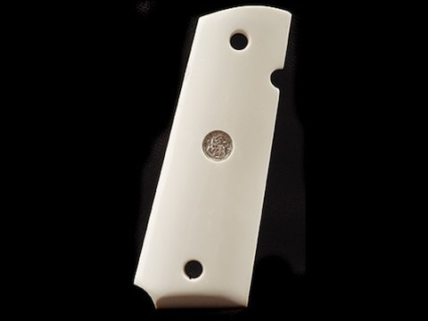 Smith & Wesson Factory Grips 1911 Government, Commander Ivory Polymer with Medallions