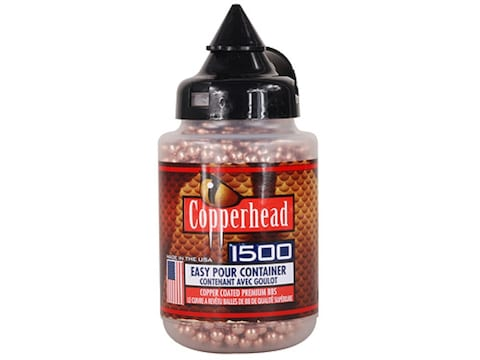Crosman Copperhead Airgun BBs 177 Caliber 5.28 Grain