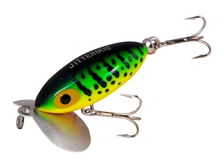 Arbogast Jitterbug 630 Topwater Fire Tiger