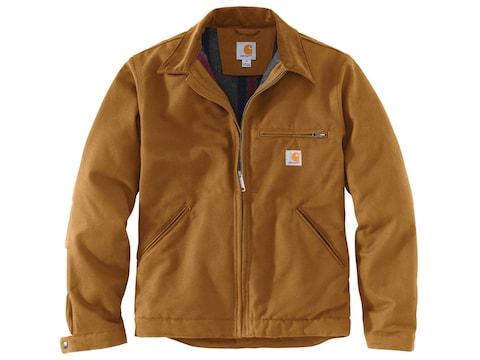 Carhartt Men's Detroit Blanket-Lined Jacket Cotton