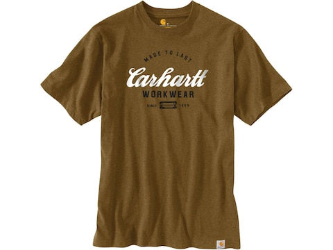 Carhartt Men's Heavyweight Made to Last Graphic Short Sleeve Shirt