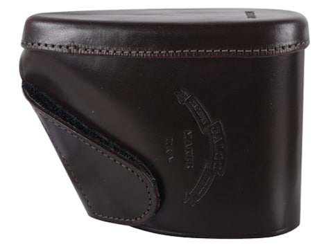 """Galco Recoil Pad Slip-On 5-3/16"""" x 1-1/2"""" x 1/2"""" Thick Leather Brown"""