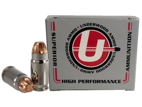 Underwood Ammunition 40 Super 140 Grain Lehigh Xtreme Penetrator Lead-Free Box of 20