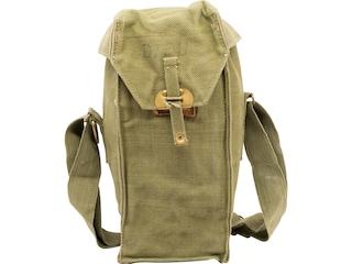 Military Surplus Belgian Gas Mask Bag Grade 2 Olive Drab