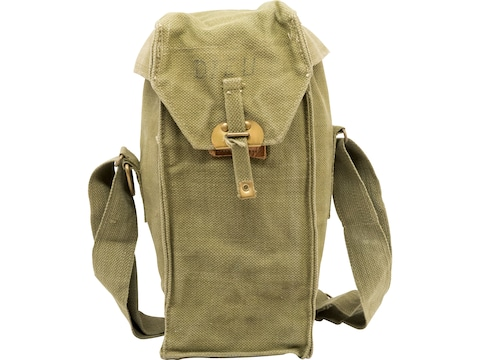 Military Surplus Belgian Gas Mask Bag Grade 2 Olive Drab