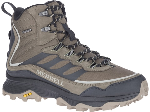 Merrell Moab Speed Thermo Mid Waterproof Insulated Hiking Boots Leather Men's