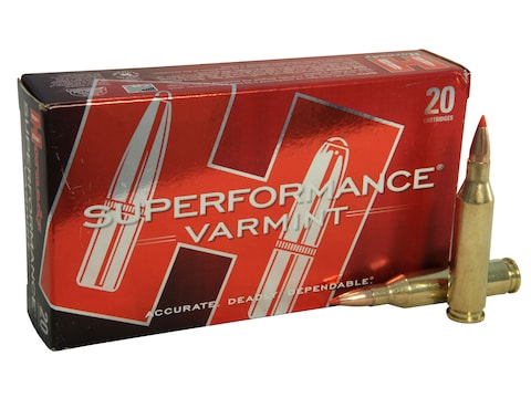 Hornady Superformance Varmint Ammunition 243 Winchester 58 Grain V-MAX Box of 20
