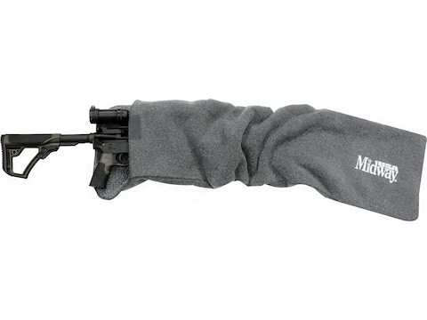 "MidwayUSA Silicone-Treated AR-15 or Riot Shotgun Case 42"" Dark Gray"