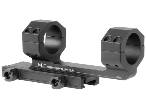 """Midwest Industries Gen 2 Scope Mount Picatinny-Style with 1.4"""" Offset Matte"""