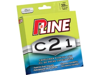 P-Line C21 Copolymer Monofilament Fishing Line 6lb 300yd Clear