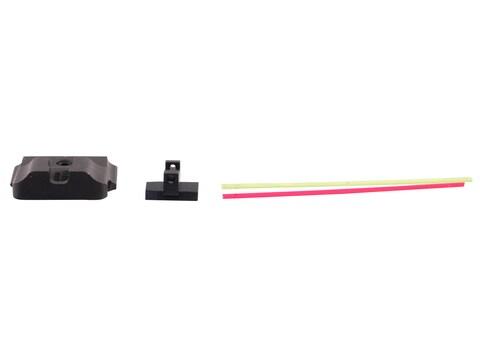 Warren Tactical Sight Set S&W M&P, M&P Compact Plain Tactical Rear, Fiber Optic Front S...