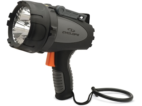 Cyclops Revo 4500 Spotlight with Rechargeable 18650 Batteries Polymer Black