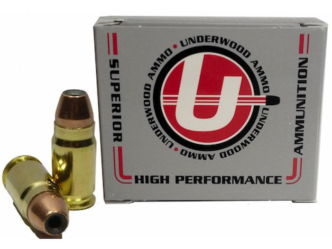 Underwood Ammunition 400 Cor-Bon 135 Grain Jacketed Hollow Point Box of 20