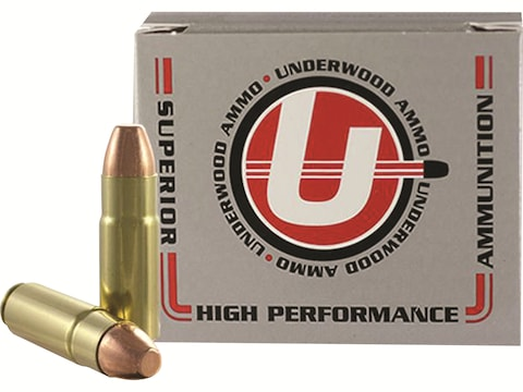 Underwood Ammunition 458 SOCOM 350 Grain Full Metal Jacket Box of 20