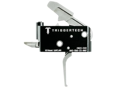 TriggerTech Adaptable Primary Trigger Group AR-15, LR-308 Two Stage Silver