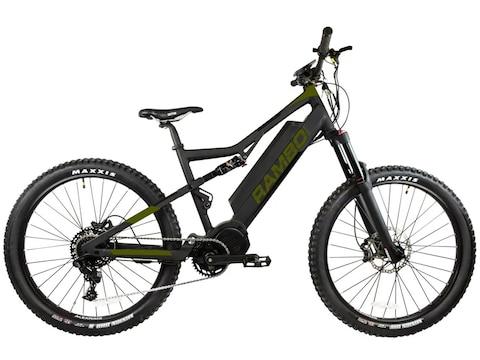 Rambo Bikes Rampage 1000W Xtreme Performance Electric Bike Black