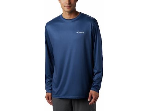 Columbia Men's PFG Fish Series II Terminal Tackle Long Sleeve Shirt Polyester