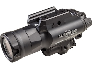 Surefire X400UH-A-GN Masterfire Rapid Deployment Weapon Light LED with Green Laser with 2 CR123A Batteries Aluminum Black