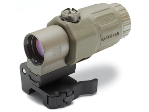 EOTech G33 3x Magnifier with Switch to Side Quick Detachable Mount