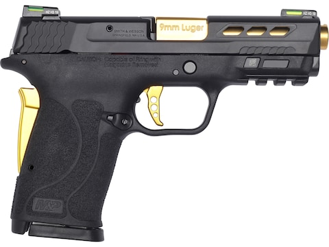 "Smith & Wesson M&P9 Shield EZ PC 9mm Luger Semi-Automatic Pistol 3.83"" Barrel 8 + 1-Round"