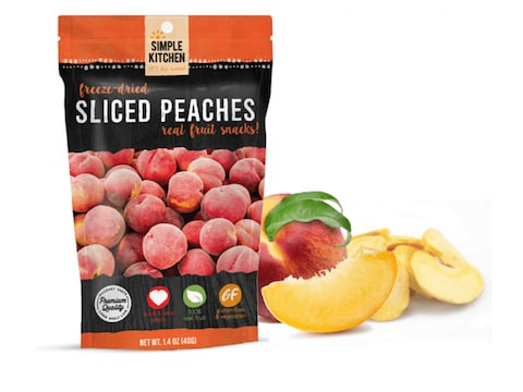 ReadyWise Simple Kitchen Peaches Freeze Dried Food