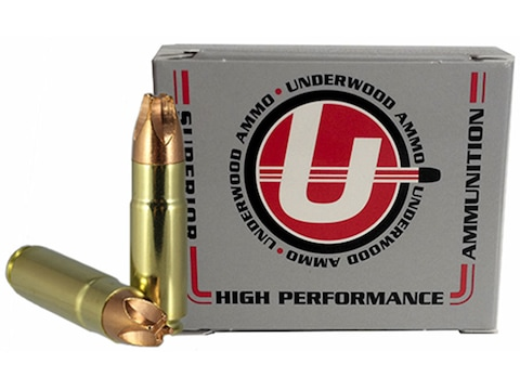 Underwood Xtreme Hunter Ammunition 458 SOCOM 250 Grain Lehigh Xtreme Defense Lead-Free ...