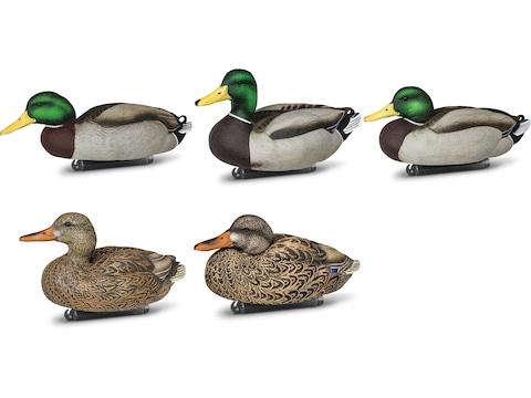 DOA Refuge Series Mallard Duck Floater Decoy Pack of 6