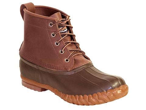 "Kenetrek Chukka 6"" Boots Leather/Rubber Brown Men's"