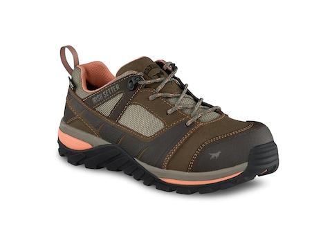 """Irish Setter Rockford 4"""" Non-Metallic Safety Toe Oxford Work Boots"""