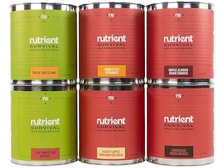 Nutrient Survival 72 Hour Emergency Freeze Dried Food Kit 72 Serving