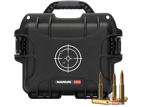 "Nanuk 908 Ammo Case 9"" Polymer"