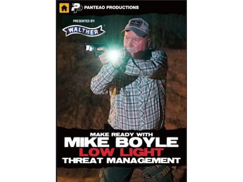 "Panteao ""Make ready with Mike Boyle: Low Light Threat Management"" DVD"