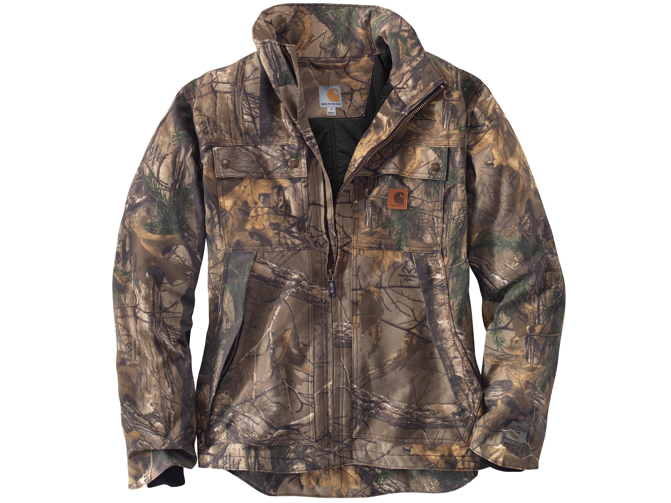 Carhartt 101444C Quick Duck Camo Traditional Jacket 977 Realtree Xtra
