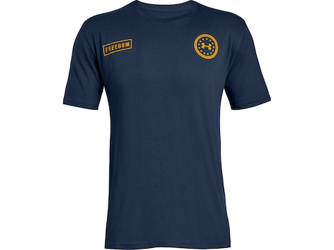Under Armour Men's Freedom by Sea Short Sleeve T-Shirt Charged Cotton