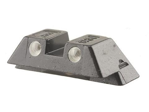 "Glock Factory Rear Sight 6.9mm .271"" Height Steel Black Tritium"
