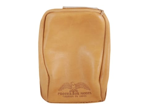 Protektor Standard Rear Shooting Rest Bag Leather Tan Unfilled