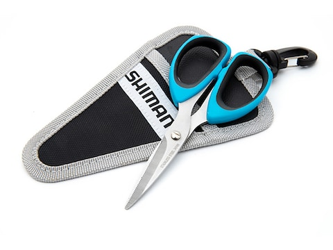"Shimano Brutas 5"" Scissors with Sheath"