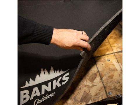 Banks Outdoors Stump Box Blind Floor Mat Foam Gray