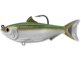 "LIVETARGET Scaled Sardine 3.5"" Swimbait Silver/Green"