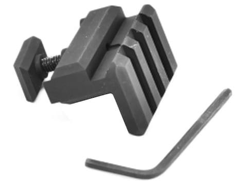 "Gear Head Works USA Offset 0.25"" Razorback Accessory Rail Aluminum Matte"