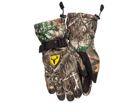 ScentBlocker Cold Fusion Catalyst Whitetail Pursuit Windblocker Insulated Gloves Poly/M...
