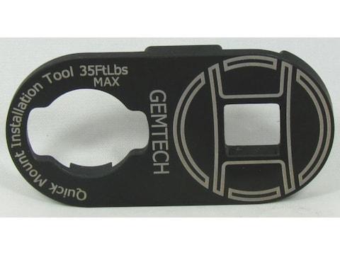 Gemtech Quickmount Installation Tool Steel Black