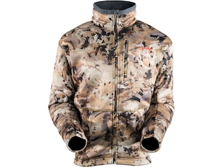Sitka Gear Men's Gradient Fleece Jacket Polyester Optifade Waterfowl Marsh Camo 2XL