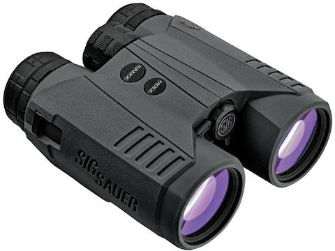 Sig Sauer KILO3000BDX Ballistic Data Xchange Laser Rangefinding Binocular 10x 42mm Black